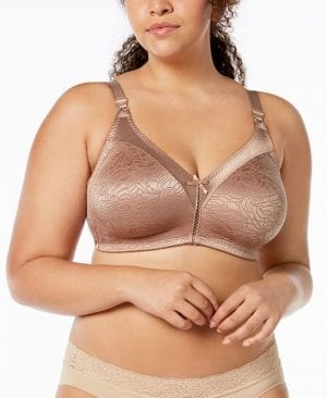 Bali 3372 Double Support Spa Closure Wireless Bra