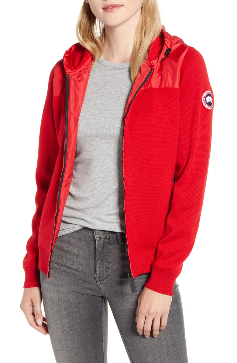 CANADA GOOSE Windbridge Hooded Women's Sweater Jacket