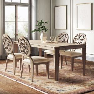 Kelly Clarkson Home 5-Piece Extendable Dining Set