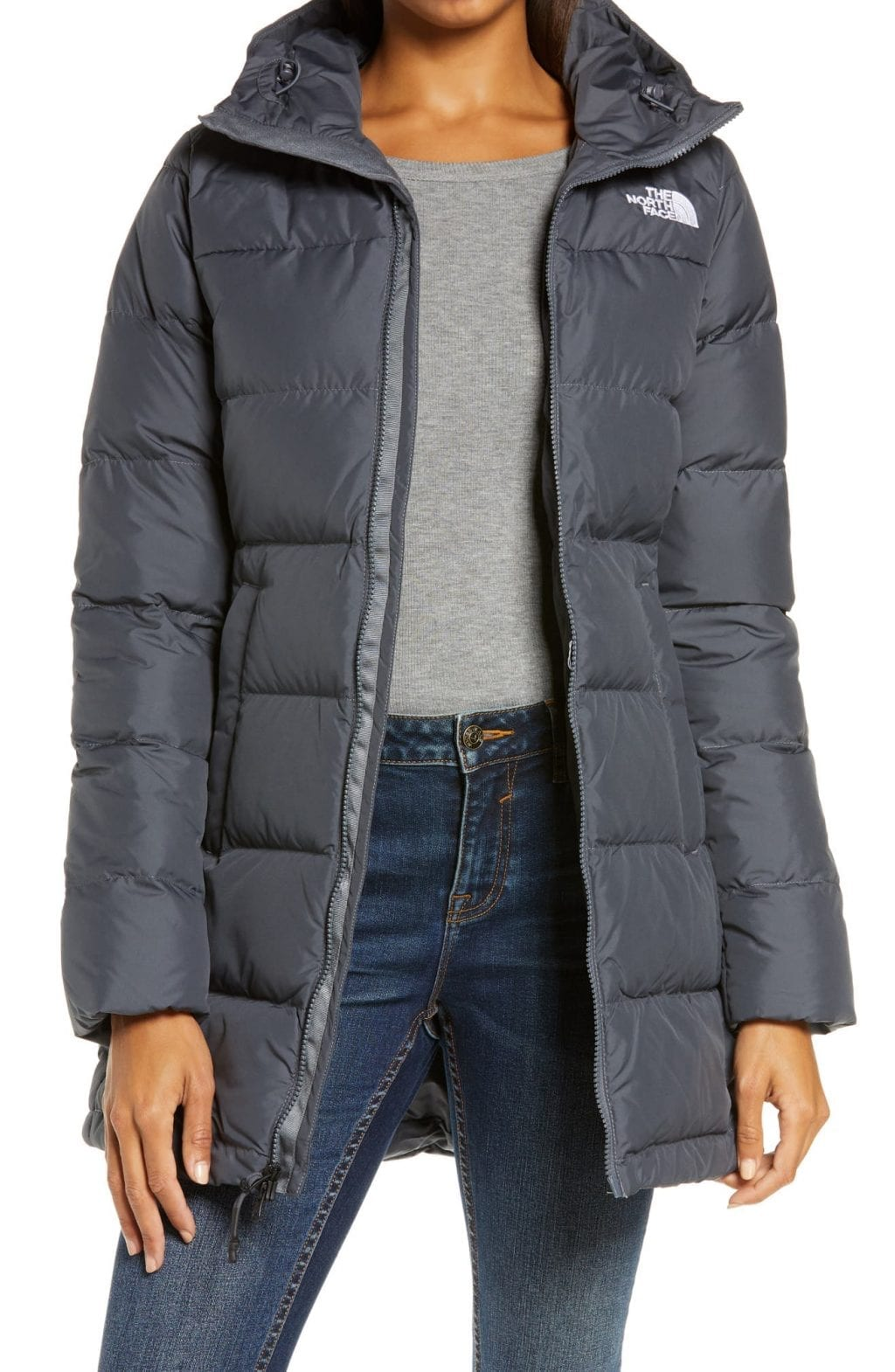 The North Face Gotham 550 Fill Power Down Hooded Women's Parka