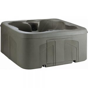 Lifesmart LS100DX 4-Person 20-Jet 110-Volt Plug and Play Spa (with Waterfall)