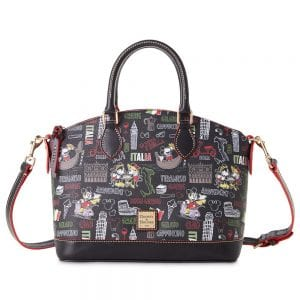 Dooney & Bourke Mickey and Minnie Mouse Italia Satchel