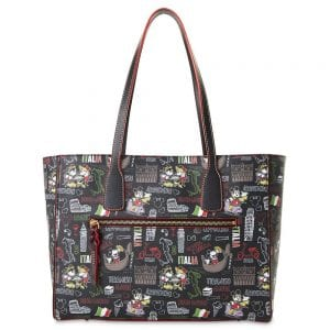 Dooney & Bourke Mickey and Minnie Mouse Italia Tote Bag