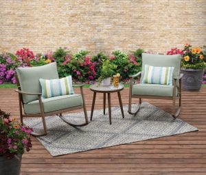 Better Homes & Gardens Roxbury 3 Piece Cushion Rocking Chair Set