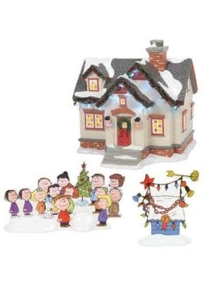 Department 56 The Peanuts House Home Decor