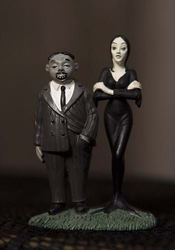 Department 56 The Addams Family Gomez and Morticia Figure