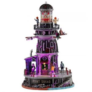 Lemax® Spooky Town® Point Dread Lighthouse