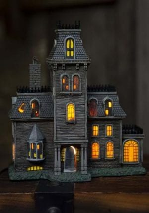 Department 56 The Addams Family House Lighted Building