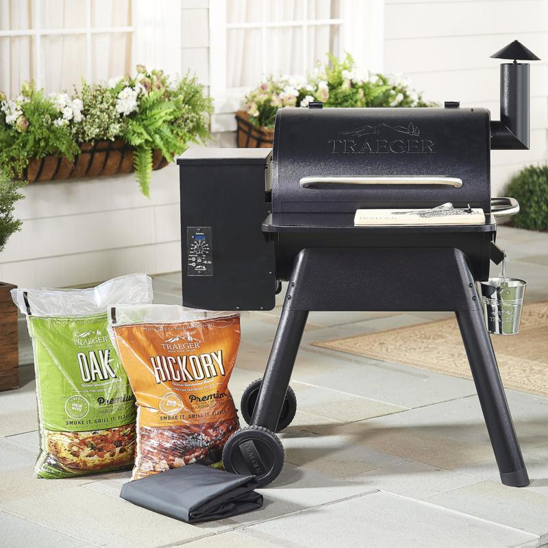 Traeger Prairie 572 sq. in. Wood-Fired Grill and Smoker