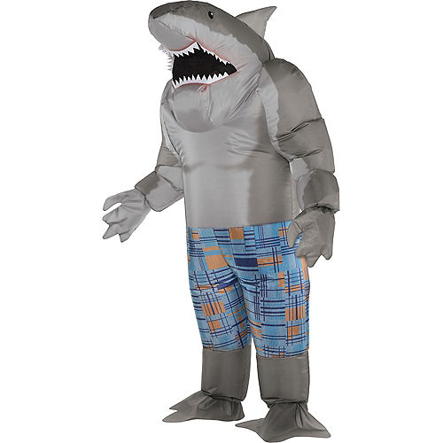Adult King Shark Suicide 2 Inflatable Costume
