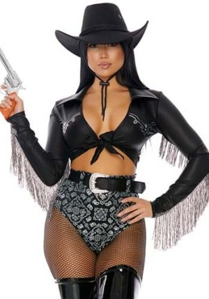 Women's Ride It Out Cowgirl Costume